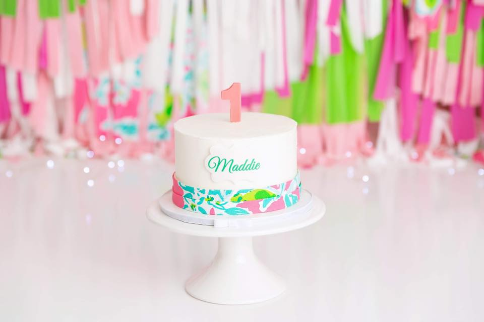 Clearwater Fl,  Custom Lilly Pulitzer Smash Cake