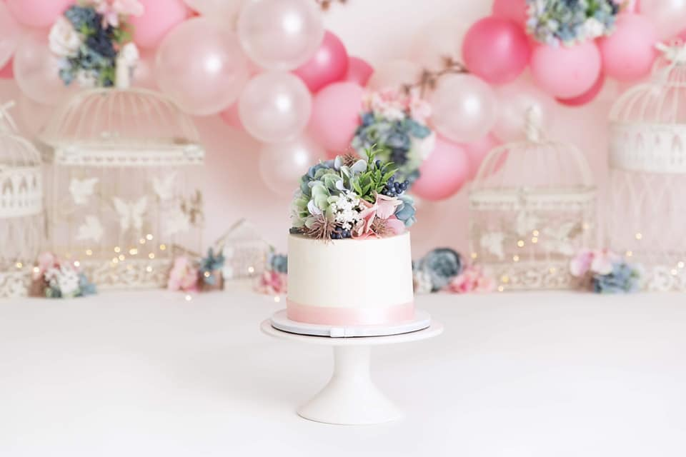 Clearwater Fl,  Custom floral Smash Cake