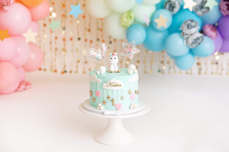 Clearwater Fl,  Custom Unicorn Smash Cake