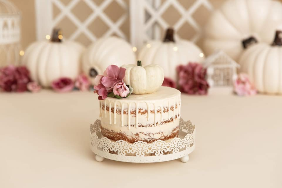 Clearwater Fl,  Custom Pumpkin naked Smash Cake