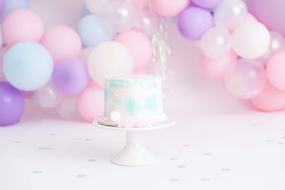 Clearwater Fl,  Custom Cotton Candy Smash Cake