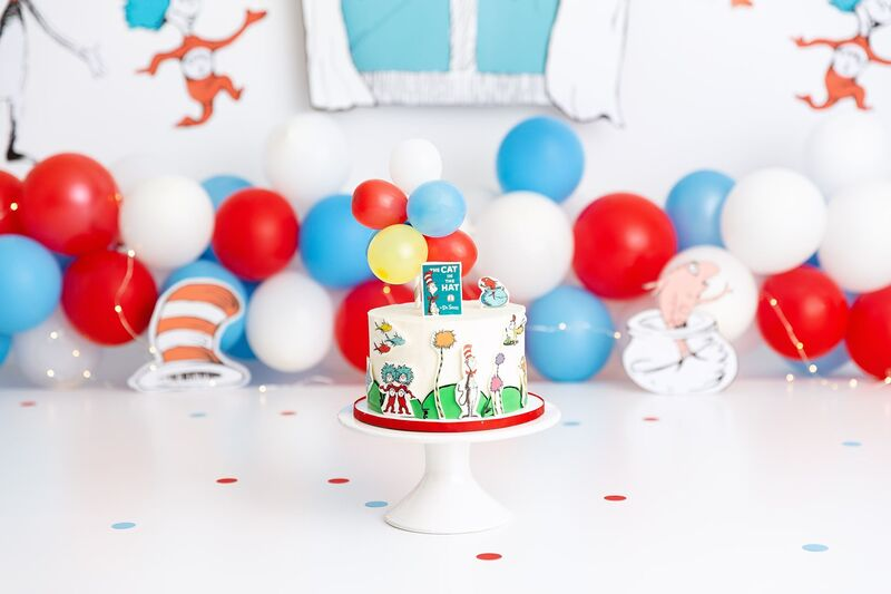 Clearwater Florida, Custom Smash Cake Dr. Suess