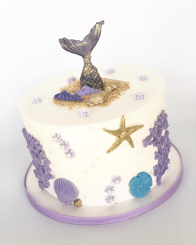 Mermaid Clearwater Fl,  Custom   Cake