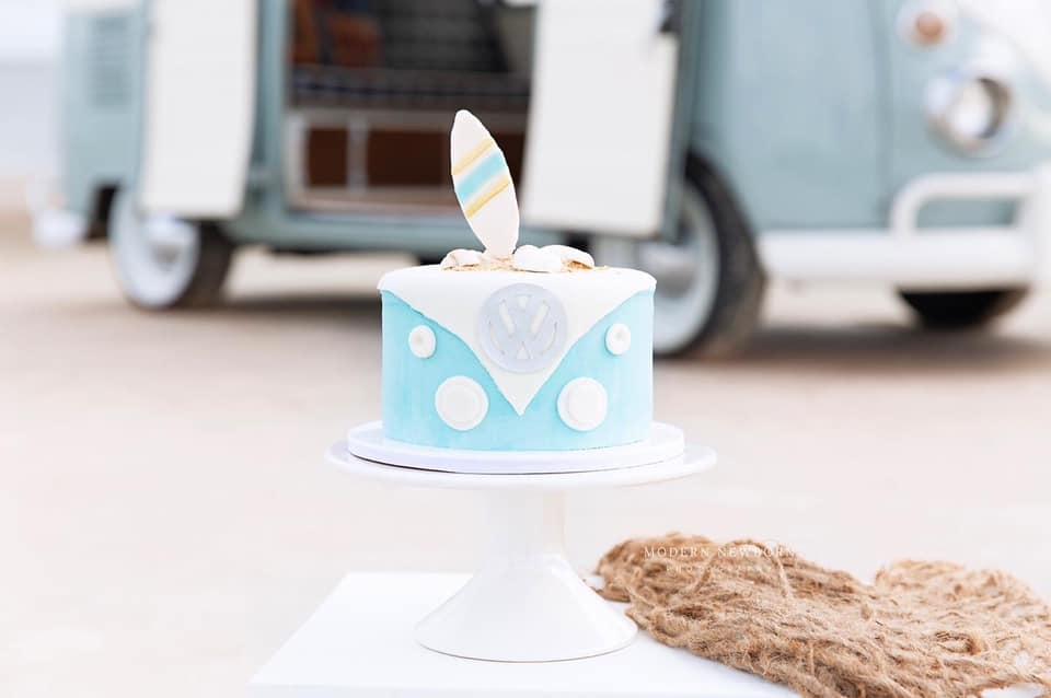 Clearwater Fl,  Custom Volkswagon Smash Cake
