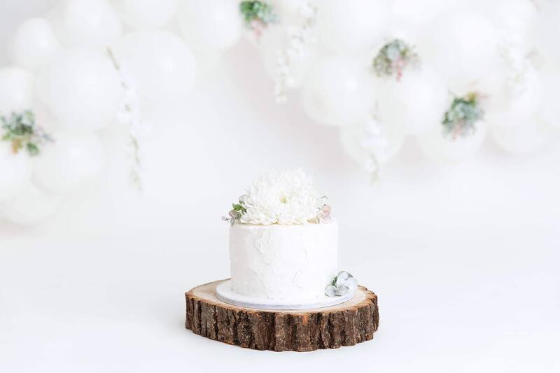 Clearwater Fl,  Custom Organic White Smash Cake