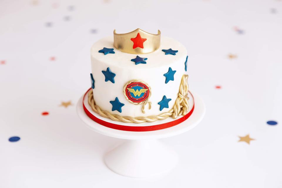 Wonder Women Clearwater Fl,  Custom   Cake
