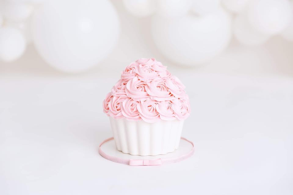 Clearwater Fl,  Custom Pink Giant Cupcake  Smash Cake