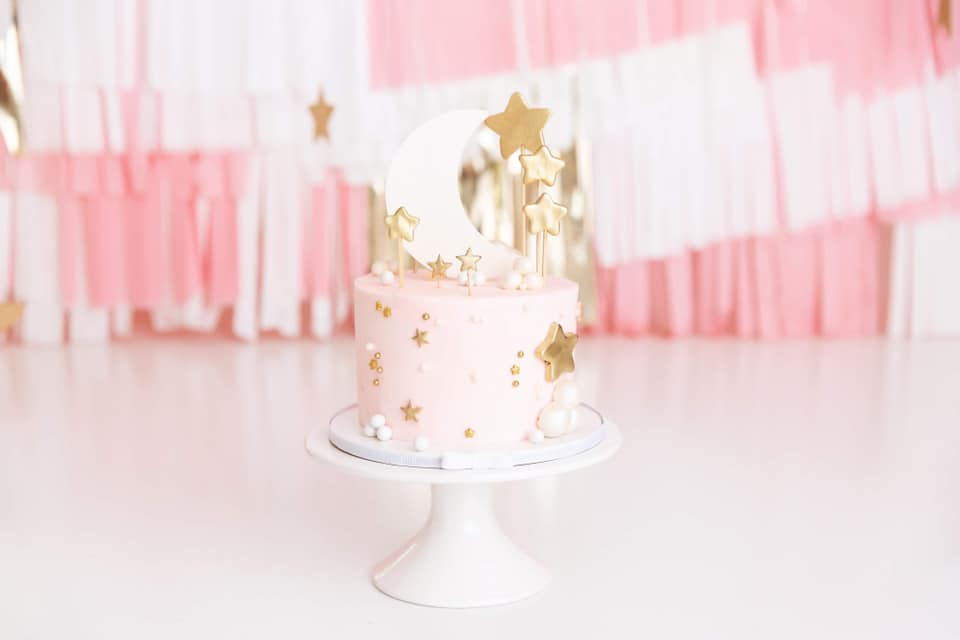 Clearwater Fl,  Custom Moon and stars Smash Cake