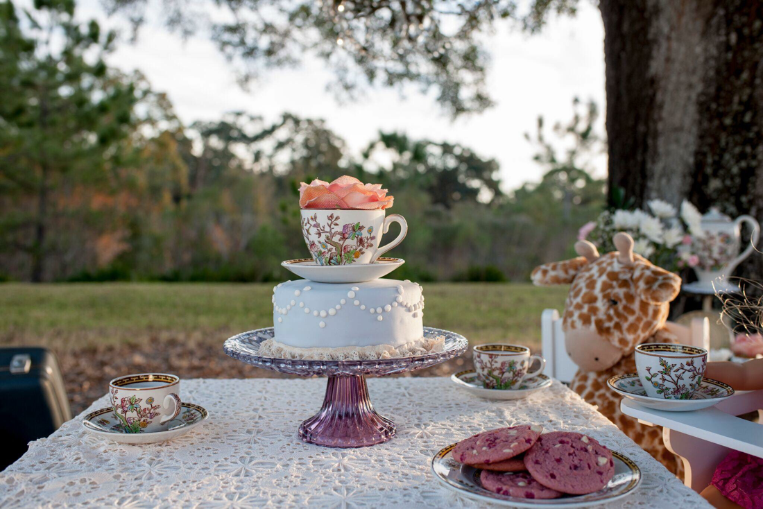 Clearwater Fl,  Custom Vintage Teacup Smash Cake